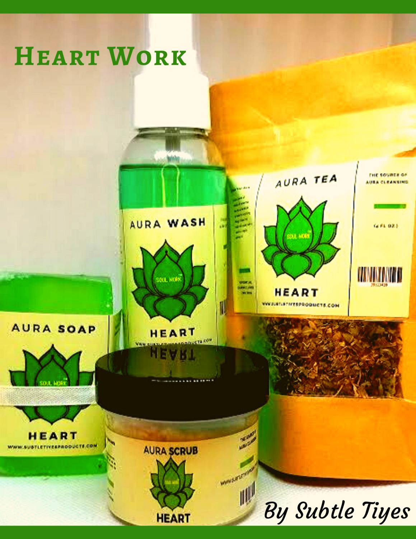 Heart Chakra Balancing - Aura Freshener Gift Package