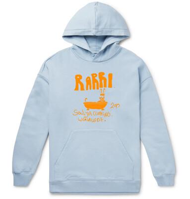 Rabbit in Bath sky blue