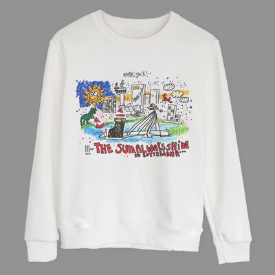 Rotterdam sweater wit