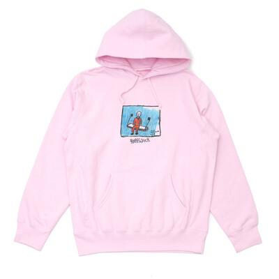 Prison hoodie pink