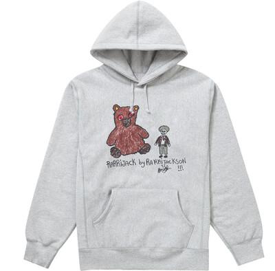 Polo bear hoodie grey