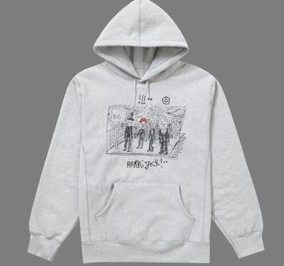 Busstop hoodie grey