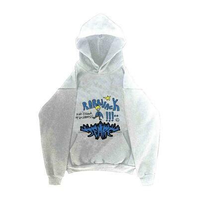 Rarri x Tears hoodie white
