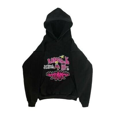 Rarri x Tears hoodie black