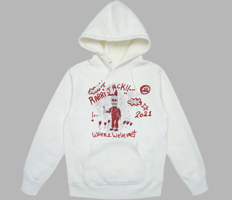 WWM hoodie white