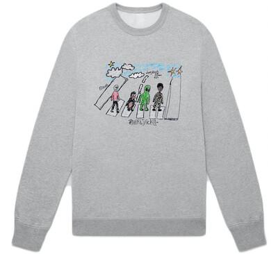 Abey road sweatshirt grey