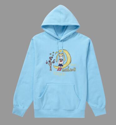 Sailor moon hoodie blue