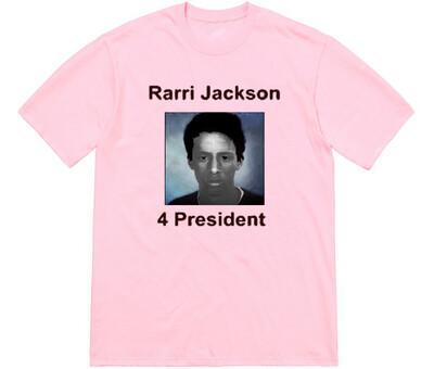 Rarri for president pink