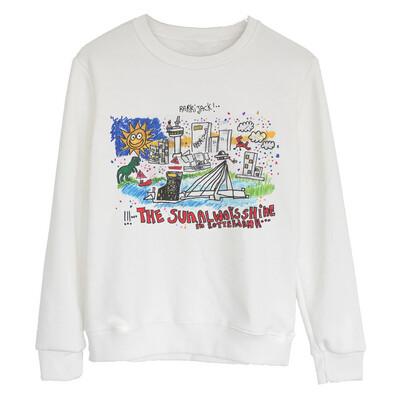 Rotterdam sweater white