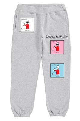 Wauzzer sweatpants grey