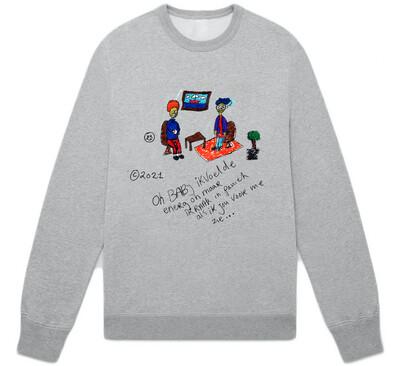 Energy sweater grey
