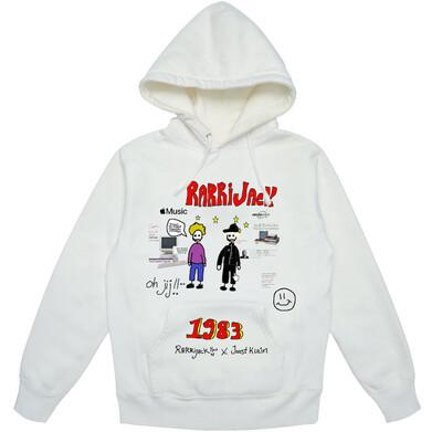 Rarrijack X Joost Klein 1983 hoodie white