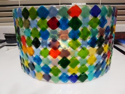Rainbow Candle Sconce