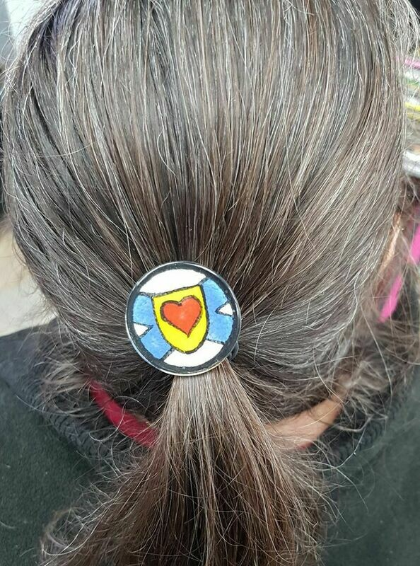 Rockin'Diva Ponytail Holder, Nova Scotia Strong