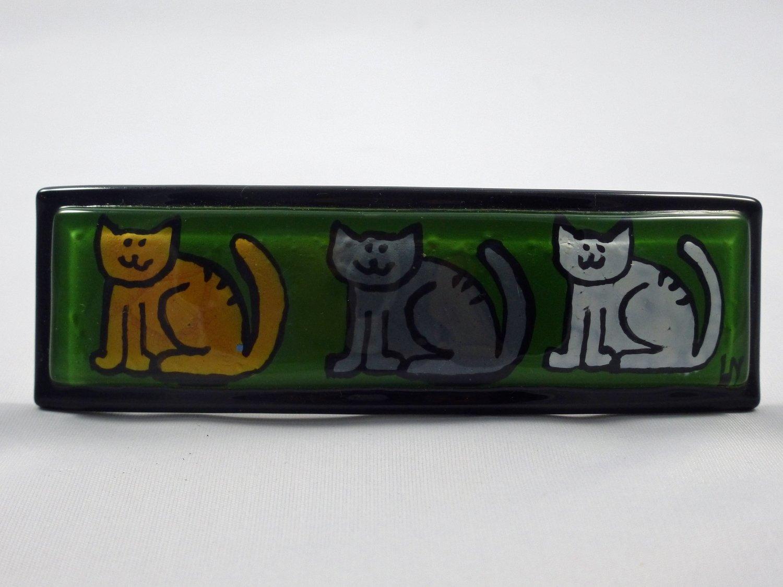 3 Bad Cats Barrette