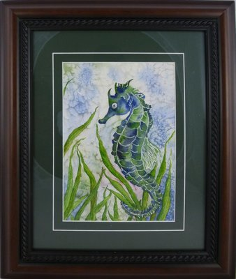 Sea Horse & Book