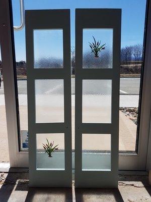 Cabinet Door glass