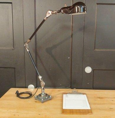 VTG Steampunk Desk Lamp - Industrial Articulating Table Task Light