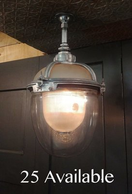 Holophane Triple Glass Explosion Proof Industrial Light Fixture