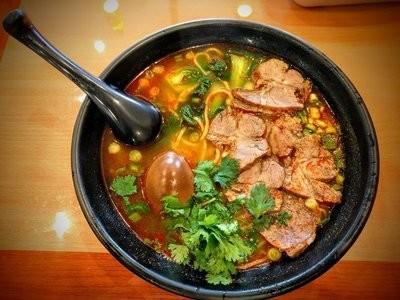 JWYB【Jing 5】牛肉面(粉)Beef Noodle(Rice Noodle)(周一休息)