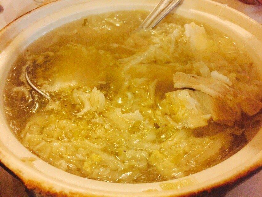 MWJ【美味居】酸菜白肉砂锅 Sour Napa and Pork Soup(不配白米饭)