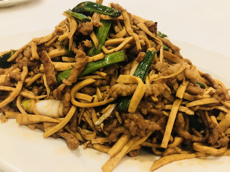 MWJ【美味居】香干肉丝 Shredded Pork with Dry Bean Curd(不配白米饭)