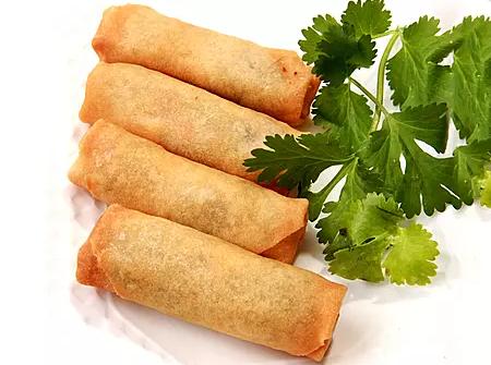 DHHX【东海海鲜】东海素春卷 Vegetable Spring Rolls (4pcs)