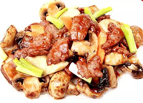 DHHX【东海海鲜】山珍牛柳 Beef with Mushroom