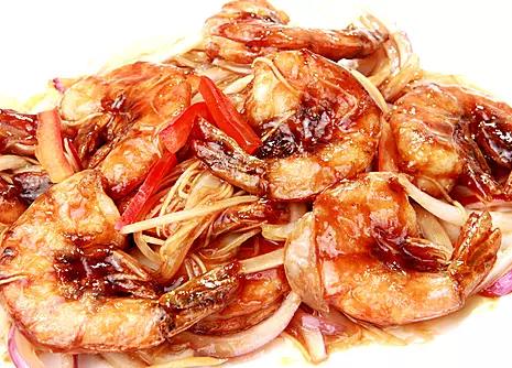 DHHX【东海海鲜】干煎大虾 Pan Fried Jumbo Shrimp