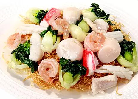 DHHX【东海海鲜】海鲜煎面 Seafood Crispy Noodles