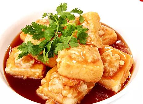DHHX【东海海鲜】炸酿豆腐 Fried Stuffed Tofu(正菜)
