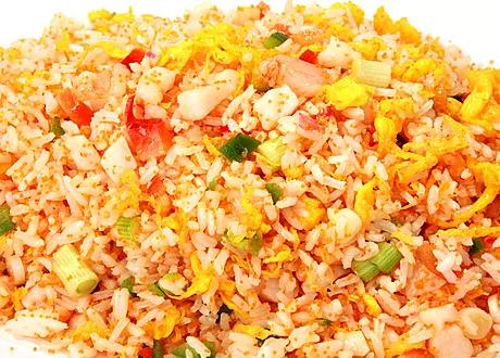 DHHX【东海海鲜】茄汁大虾炒饭 Shrimp Fried Rice with Tomato Sauce