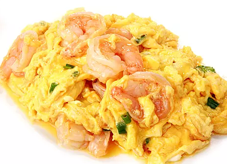 DHHX【东海海鲜】虾仁炒蛋 Scrambled Eggs with Shrimp