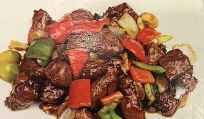 DHHX【东海海鲜】黑椒羊粒 Lamb with Black Pepper