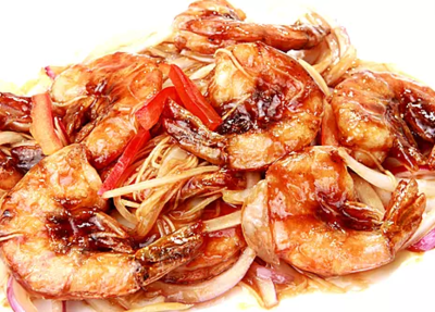 DHHX【东海海鲜】干煎大虾 Pan Fried Jumbo Shrimp
