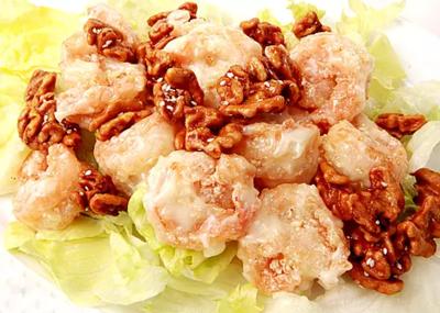 DHHX【东海海鲜】西汁核桃虾 Walnut Shrimp