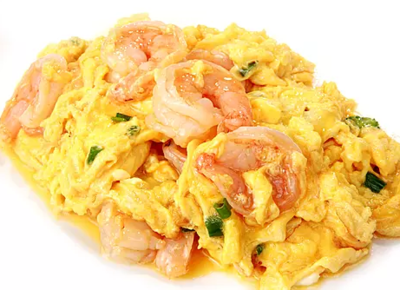 DHHX【东海海鲜】虾仁炒蛋 Scrambled Eggs with Shrimp