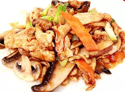 DHHX【东海海鲜】蘑菇鸡片 Mushroom Chicken