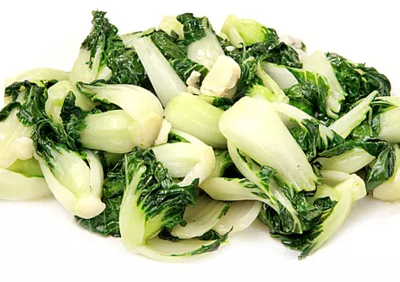 DHHX【东海海鲜】蒜子白菜苗 Sautéed Baby Bok Choy with Garlic