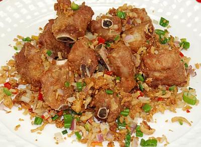 DHHX【东海海鲜】椒盐排骨 Salt and Pepper Pork Rib