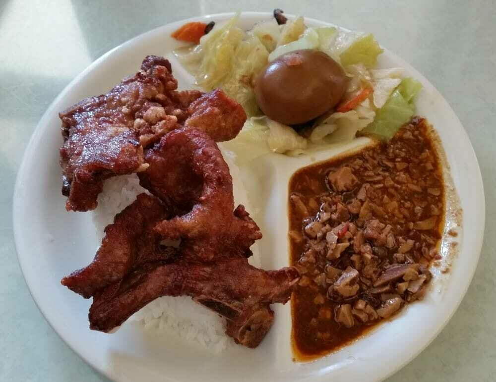 SD【山东面馆】排骨面(饭) Pork Ribs Noodle (Rice) (Closed Monday)