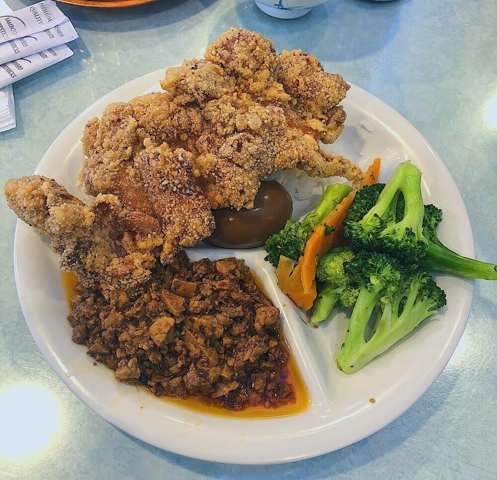 SD【山东面馆】鸡排面(饭) Chicken Steak Noodle (Rice) (Closed Monday)
