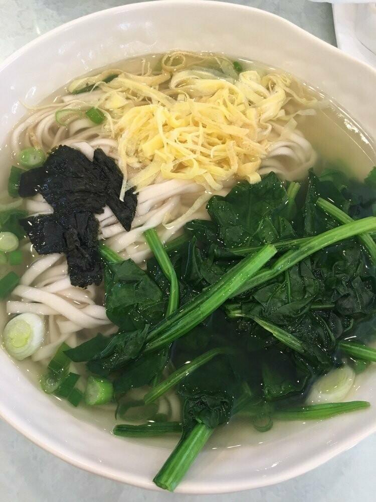 SD【山东面馆】阳春面 Simple Soup Noodle (Closed Monday)