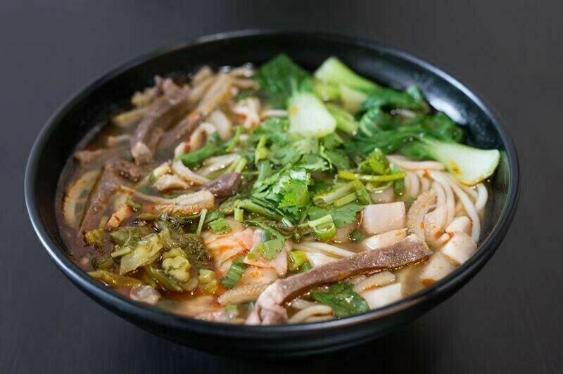 HXW【花溪王】羊杂粉/面 Lamb Offal W. Vermicelli/Noodle