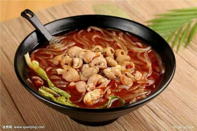 HXW【花溪王】香嫩肥肠粉 Intestine W. Rice Noodle