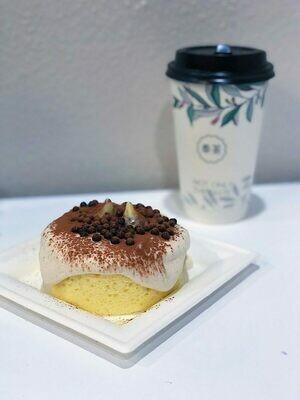 FC【奉茶】Taro Chocolate Milk Foam Cake