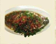 ZWHN【滋味湖南】剁椒蒸全鱼(小) Hunan Steam Fish with Chili Pepper