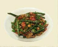 ZWHN【滋味湖南】四季豆炒回锅肉 Twice Cooked Pork with String Bean