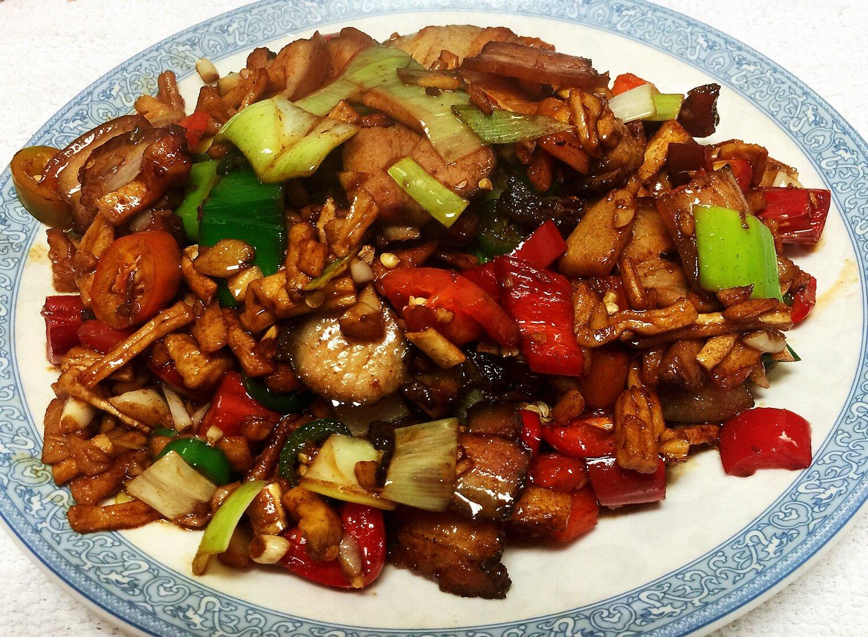 ZWHN【滋味湖南】萝卜干炒腊肉/鸡胗 Sauteed Pork with Dried Tumlp/Chicken Gizzards