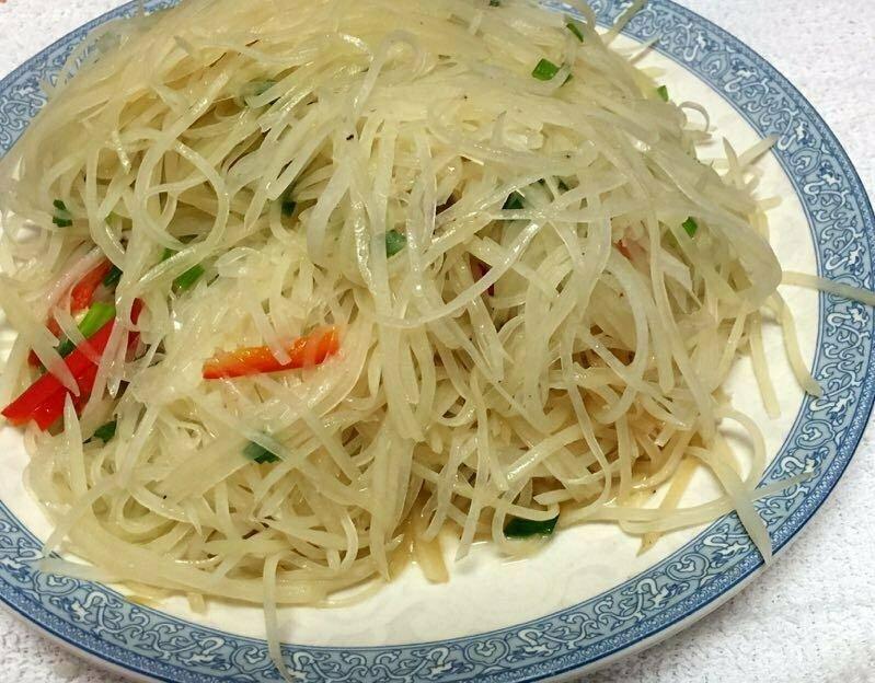 ZWHN【滋味湖南】醋溜土豆丝 Sauteed Sour Potato